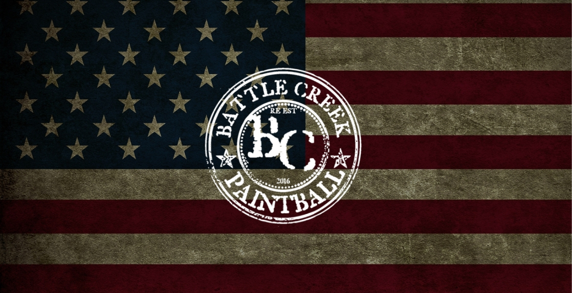 Battle Creek Paintball flag logo