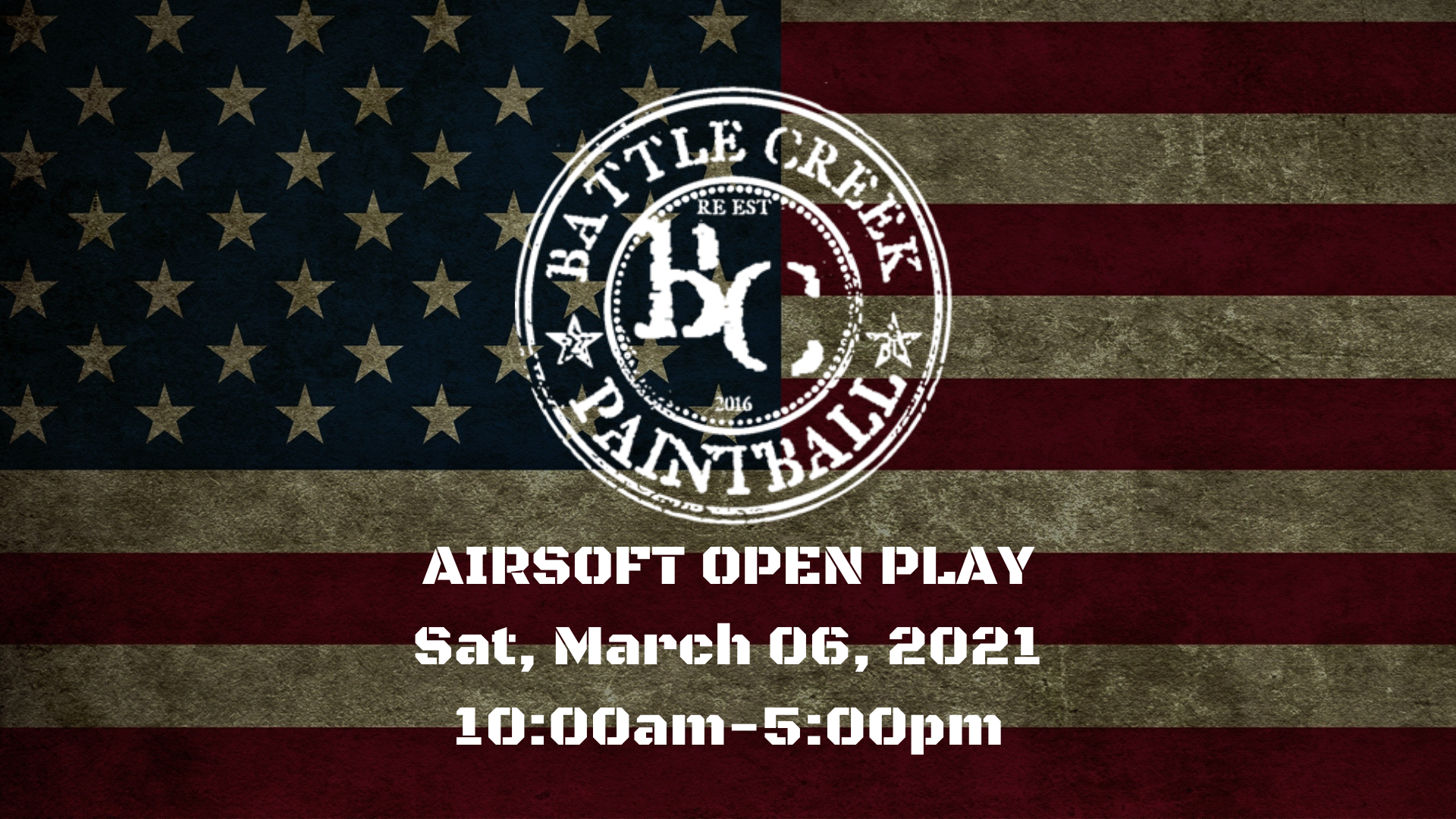 Airsoft Open Play